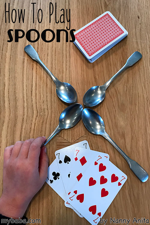 How to play spoons. A fast paced card game, perfect for family games night.