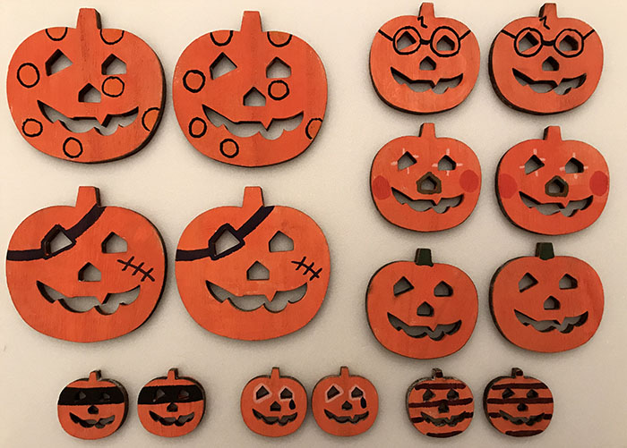 halloween pumpkin pairs game