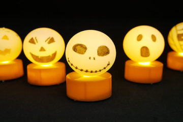 Halloween ping pong lights