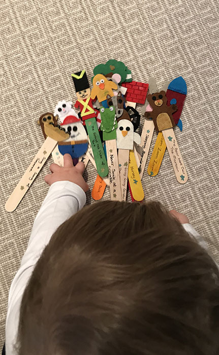 DIY Nursery Rhyme Puppets