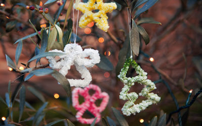 pipe cleaner crystal decorations