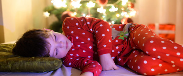 Christmas Eve Children Sleep