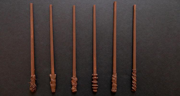 DIY harry potter wands