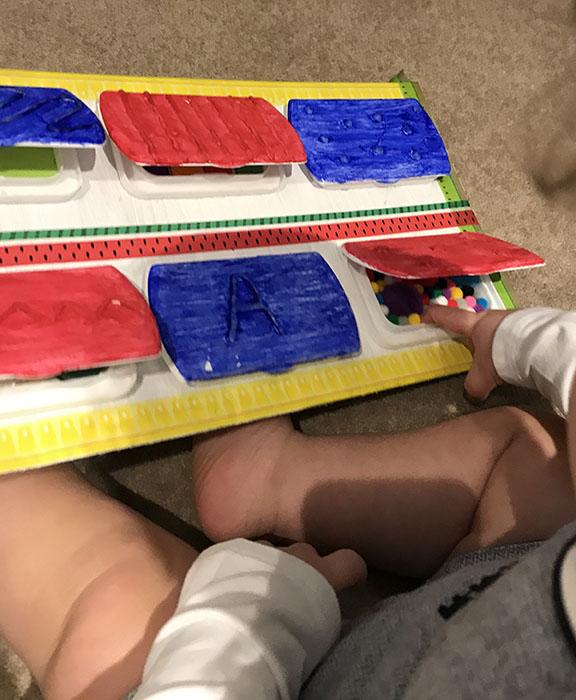 DIY sensory board