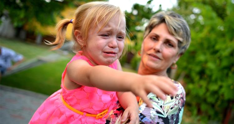 Child For Nursery Help Them Settle