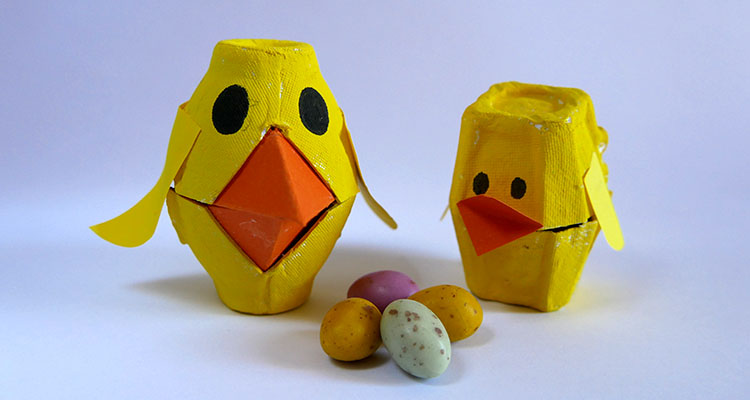 Egg carton chicks a sweet easter gift nanny anita my baba egg carton chicks a sweet easter gift nanny anita negle Images