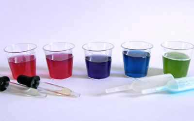 Red cabbage indicator experiment