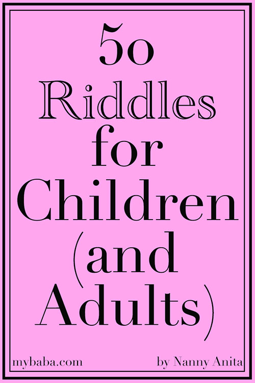 50 riddles for children {and adults)