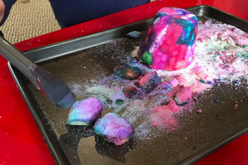 salt structure sensory tray