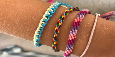 Simple friendship bracelets