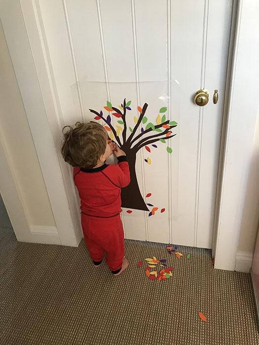 atumn tree activity