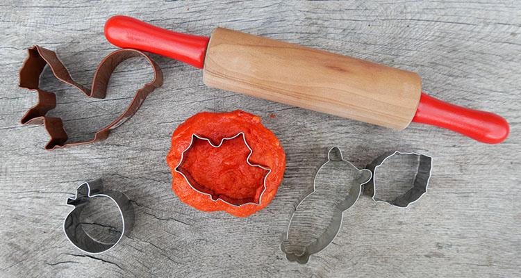 Autumnal Marshmallow Play Dough