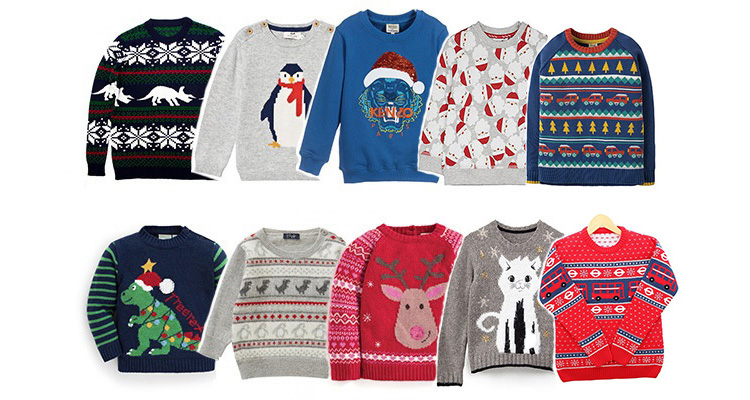 6362bd03 The Best Kids' Christmas Jumpers for The Festive Season