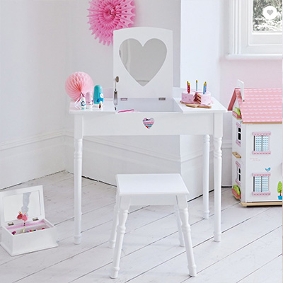uk availability 65c07 c95b9 Best Kids' Dressing Tables 2019, From £40 | Vanity Tables ...