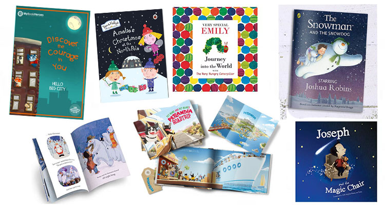 Personalised Books for Christmas