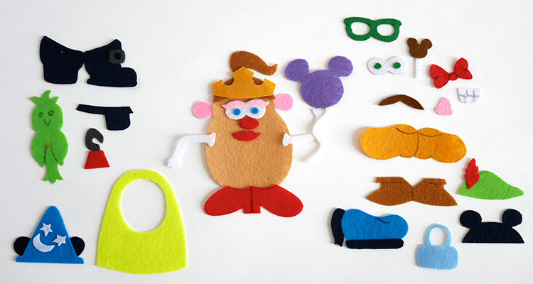 Disney Mr Potato Head Busy Bag