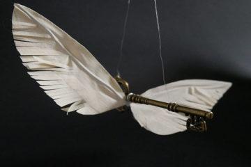 Harry Potter Flying Key Decorations