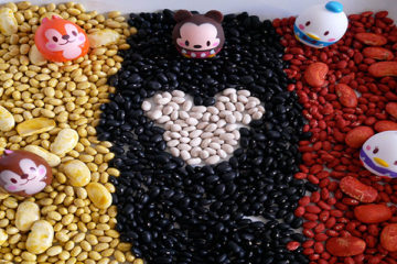 mickey mouse sensory tray