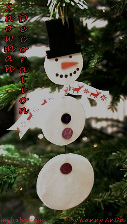 hanging snowmen decorations