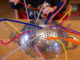 pipe cleaner and colander activity