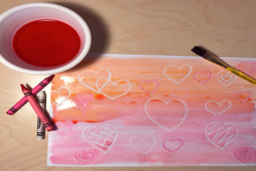Valentine's sugar paintings