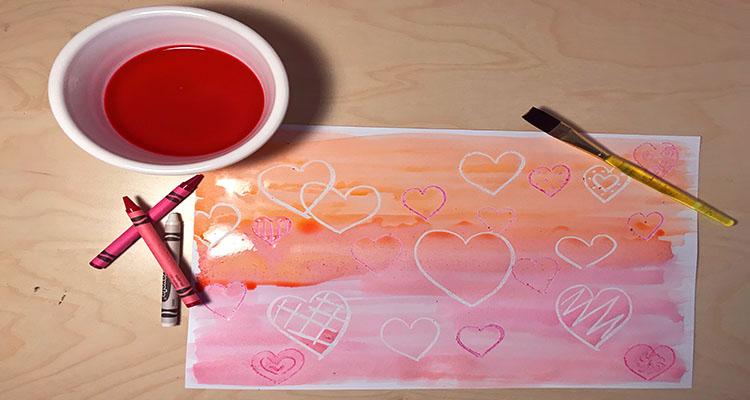 Valentine's sugar paintings