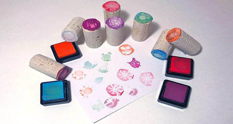 homemade stamp set