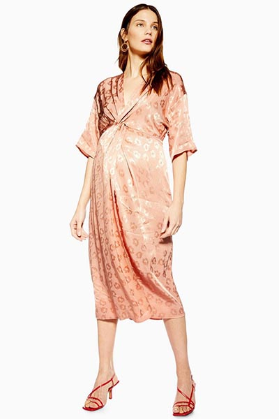 5a6f083395c Best Maternity Midi Dresses To See You Through Pregnancy