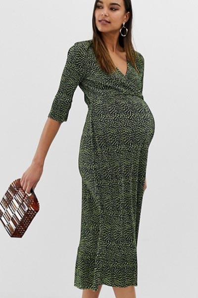 9a4fa976f67 Best Maternity Midi Dresses To See You Through Pregnancy, From £22 ...