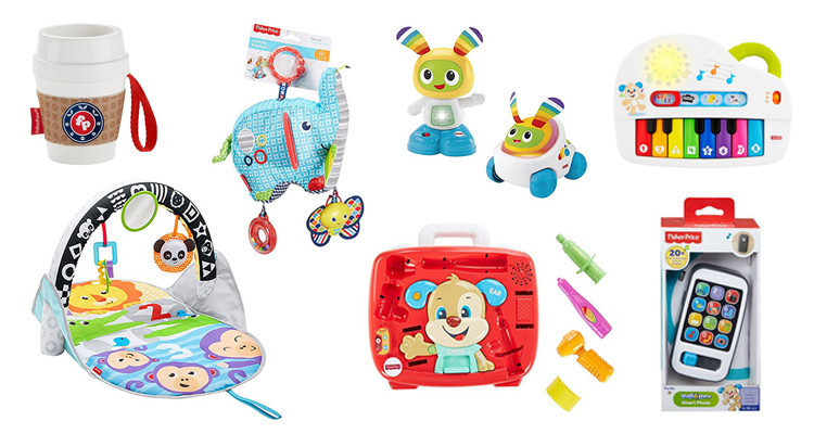 fisher price travel toys