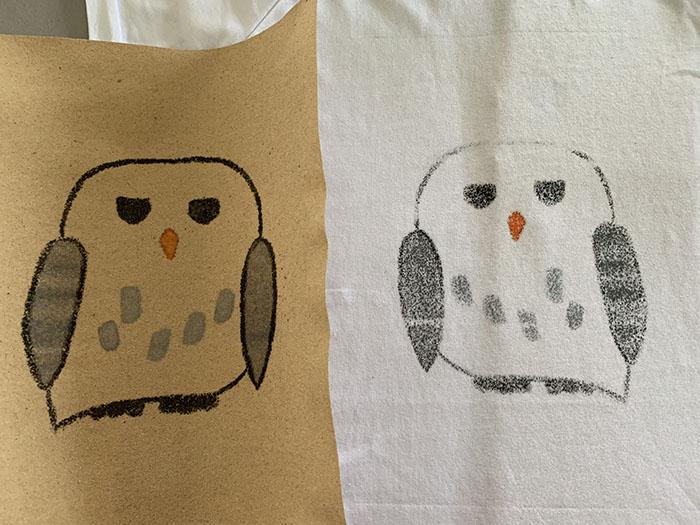 crayon printed t-shirts