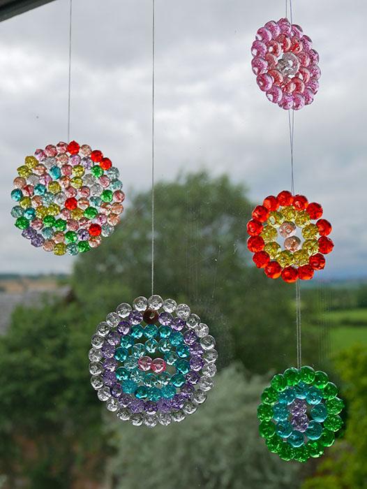 melted bead sun catchers