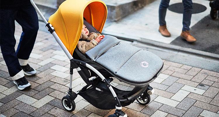 New Bugaboo Cameleon Stroller Bassinet Mattress Grey Accessory part Baby Infant