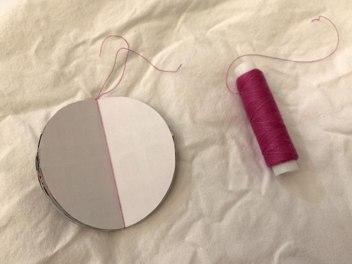 3d paper baubles