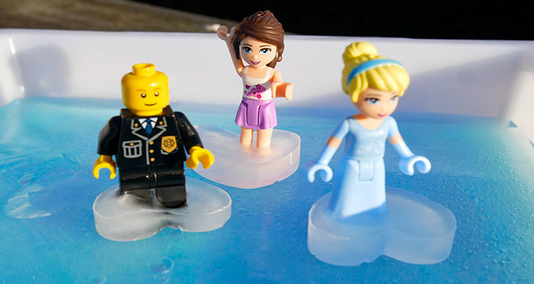 ice rink for lego figures