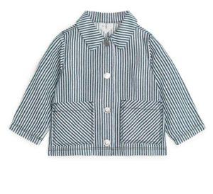 Hickory Stripe Cotton Jacket