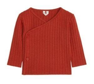 Pima Cotton Wrap Cardigan