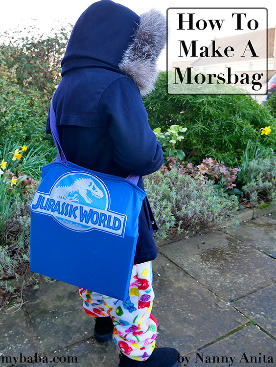 How to make a morsbag from upcycled tshirts
