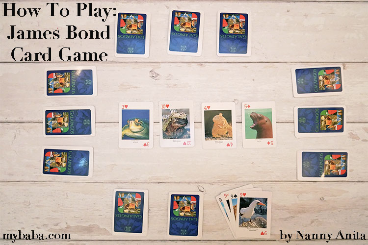 How to play the James Bond card game.  A fast paced card game for 2-4 players, ideal for families.