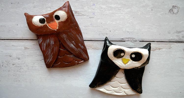 clay owls