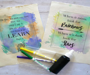 watercolour quotes
