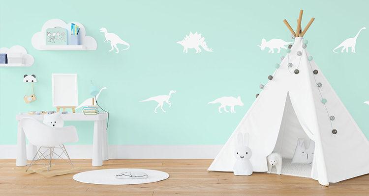 Create A Dinosaur Nursery With These Roar-Tastic Accessories & Interior Ideas