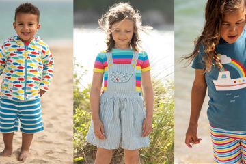 Shop The Best Organic Rainbow Print Fashion For Kids