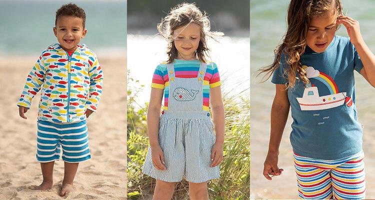 Shop The Best Organic Rainbow Print Fashion For Kids