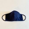 Sustainable, Reusable Cotton Mask - Navy - Large