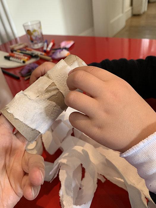 Loo roll mummies
