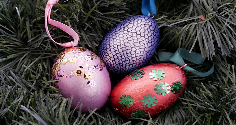 Harry potter dragon egg decorations