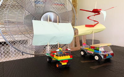 Lego wind racers