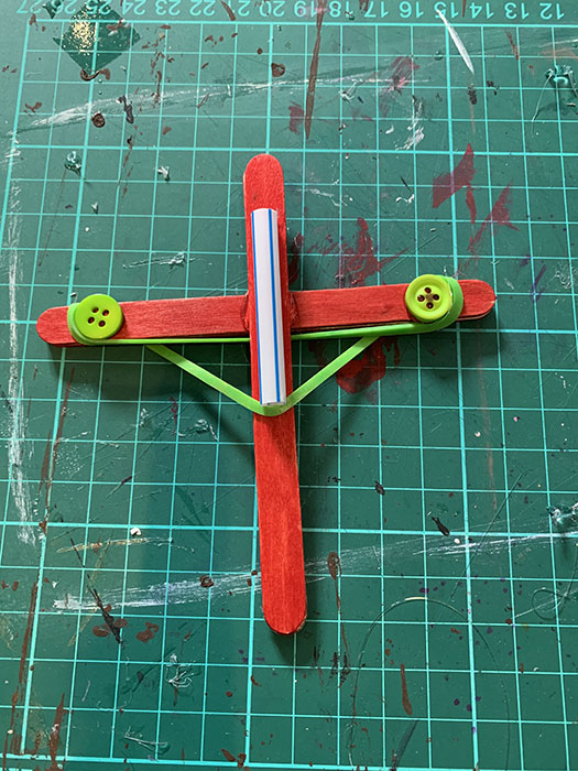craft stick crossbow