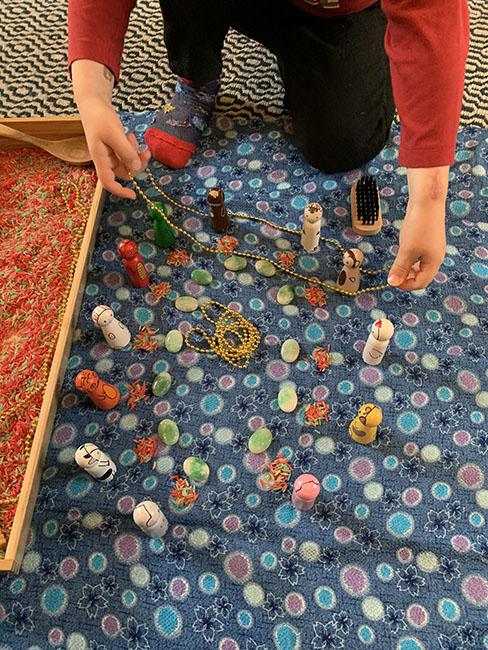 Lunar New Year Sensory Tray